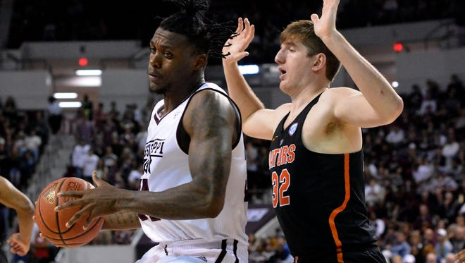 Forward Schnider Herard is transferring from Mississippi State