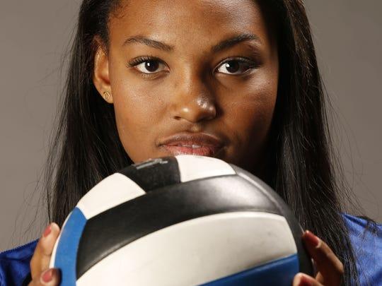 Phoeix Xavier Prep's Khalia Lanier is a finalist for the Arizona Sports Awards Female Athlete of the Year.