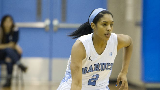 Baruch's Iyana Abrams was named Division III first team All Met by the Metropolitan Basketball Writers Association after helping the Bearcats to their seventh-straight CUNYAC title.