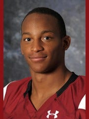 New Mexico State running back Larry Rose III.