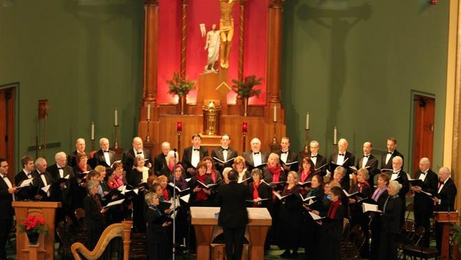 """Madrigal Choir of Binghamton performs its annual """"Lessons and Carols for Christmas"""" this weekend."""