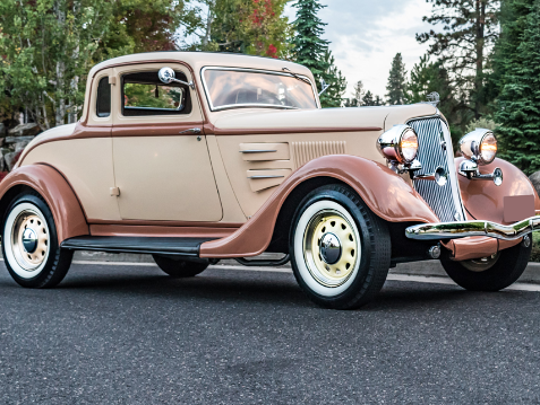 1934 Plymouth Deluxe PE Coupe