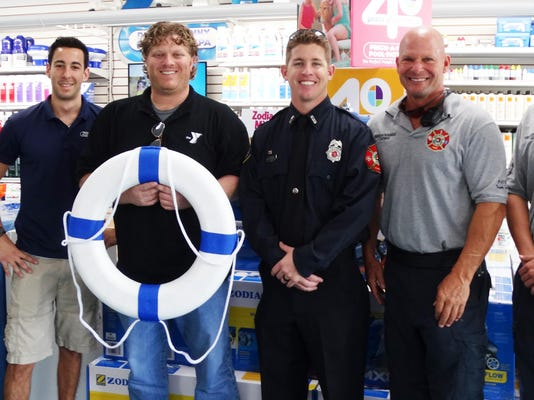 fire dept water safety