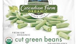 Packages of Cascadian Farm Organic Cut Green Beans and Wylwood Super Sweet Whole Kernel Corn have tested positive for listeria.