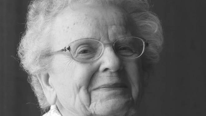 Gertrude Rose Stover, 95