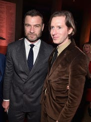 """""""Isle of Dogs"""" actor Liev Schreiber and filmmaker Wes"""