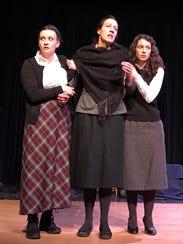 Kate Armstrong, Alexa Scott-Flaherty and Sara Bickwheat