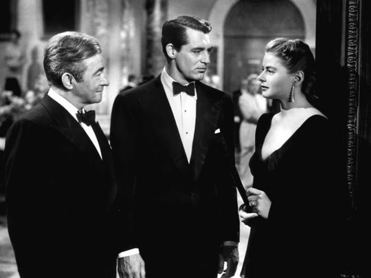 """Iconic Hitchcock film noir """"Notorious,"""" starring Cary Grant, Ingrid Bergman and Claude Rains will take to the big screen July 6 at the Historic Elsinore Theatre."""