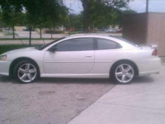 Missing person Chelsey Green was thought to be driving her 2003 white, 2-door Dodge Stratus.