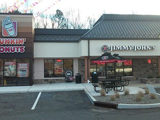 Dunkin' Donuts and Jimmy John's have opened in Lakewood.