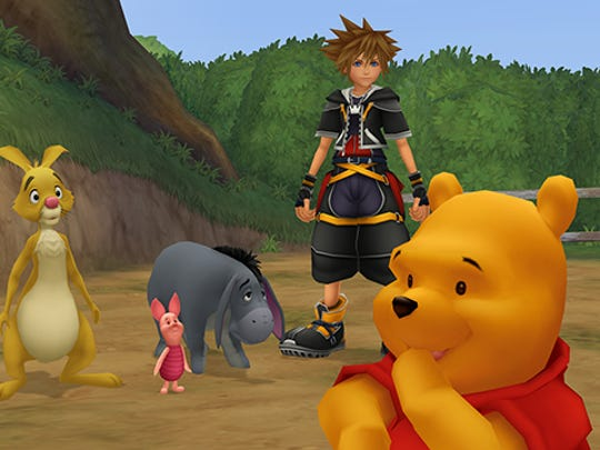 """Players can meet Disney characters in their signature worlds in the HD edition of """"Kingdom Hearts 2.5."""""""