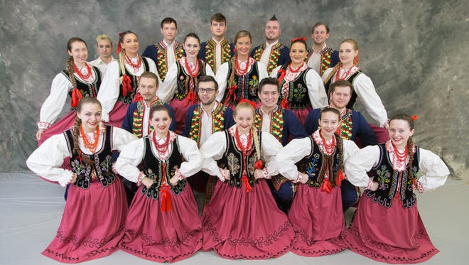 The Polanie Song and Dance Ensemble will perform May 20 in St. Clair Township.