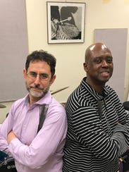 Michael Bakan and Leon Anderson perform at 8 p.m. Saturday