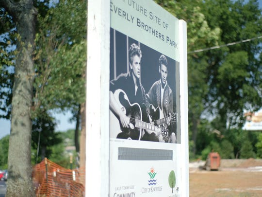 Everly Brothers Park on Kingston Pike in Bearden is getting a makeover in Knoxville, Tennessee on Tuesday, June 19, 2018.