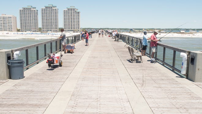 The Navarre Beach Pier will be open to the public for free on Thanksgiving Day.