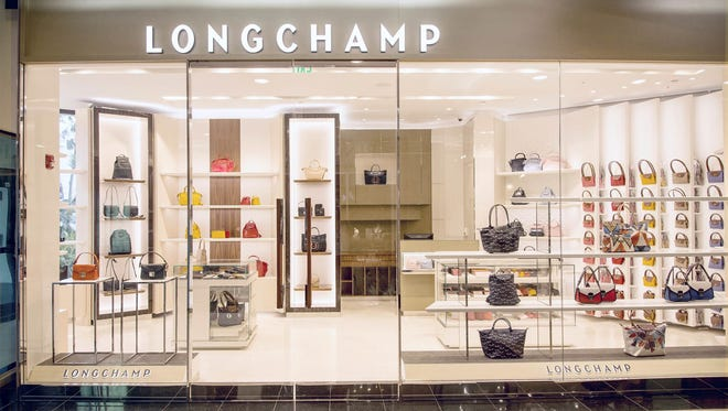 French luxury brand Longchamp opens boutique in Tumon.