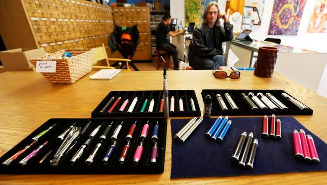 An e-cigarette store