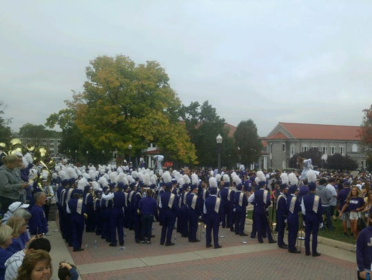 The Marching Royal Dukes are ready for ESPN's College