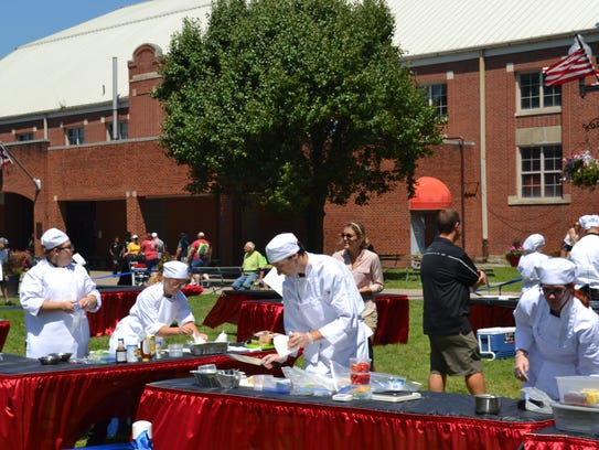 Lancaster High School Culinary Arts students compete