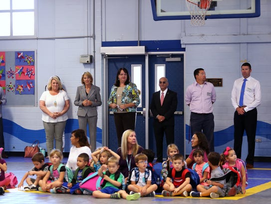 U.S. Secretary of Education Betsy DeVos visits Olsen