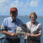 The Koopmeiners and the Times on the Great Barrier Reef.
