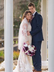 """""""Bringing Up Bates"""" stars Tori Bates and Bobby Smith got married in Knoxville on Dec. 16."""
