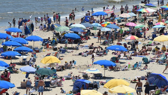 Great weather brought a huge crowd to Rehoboth Beach on Memorial Day Weekend, despite the cold water and wind, which kept most from entering the ocean. Parking was at a premium with crowds strolling the boardwalk enjoying the picture perfect day.