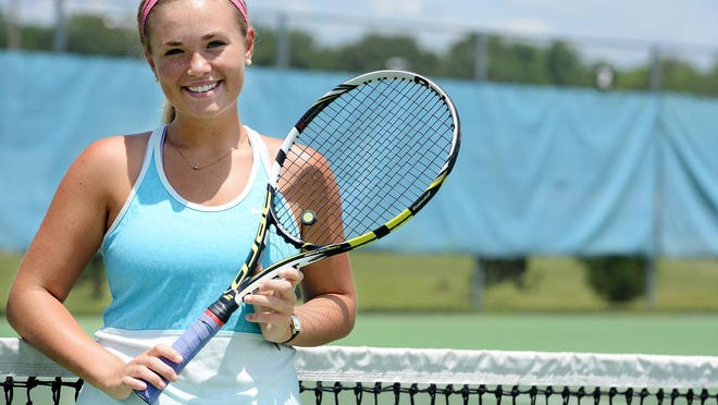 University School of Jackson's Tori Hockaday finished in the semifinals of the Division II-A singles state tournament.