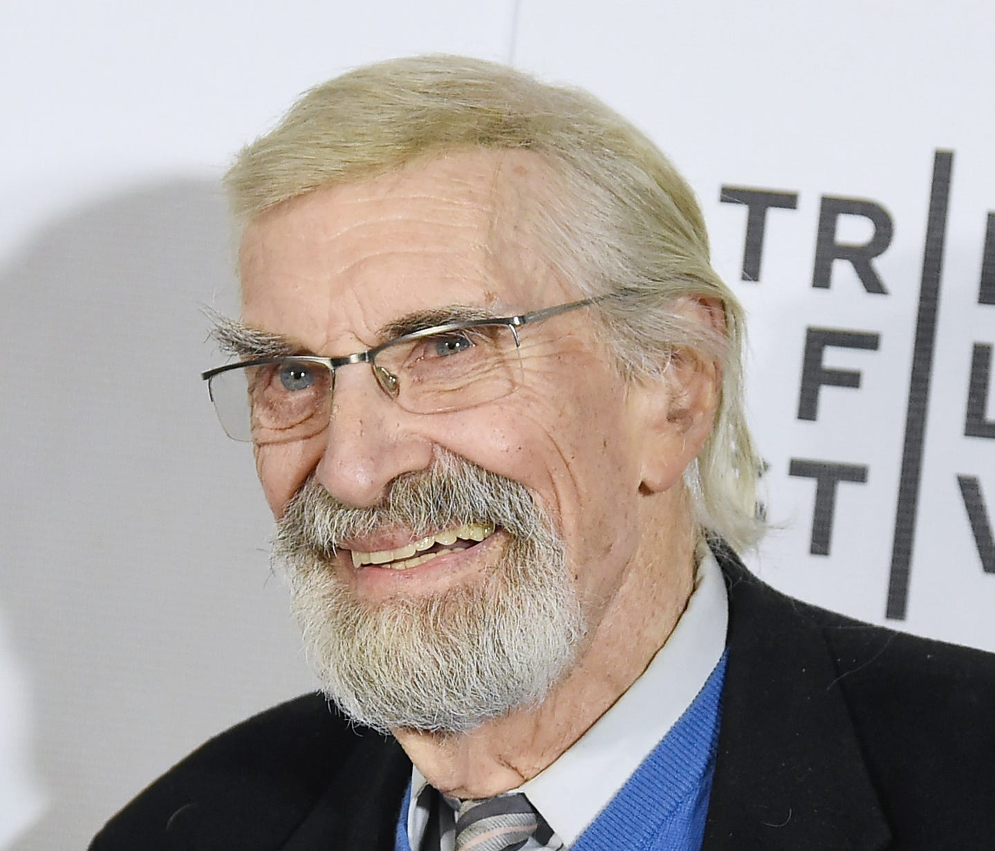Martin Landau attends Tribeca Film Festival in April 2017.