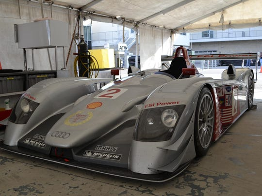 This 2005 Le Mans winner will be driven by its owner, Travis Engen.