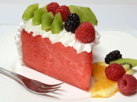 SLICED WATERMELON CAKE 2