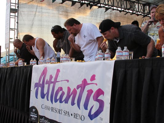 Atlantis eating contest