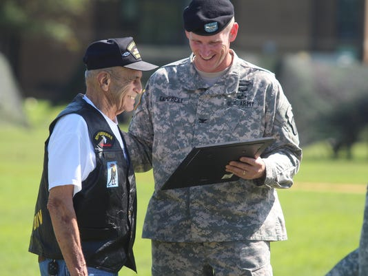 e849e8a2 Vietnam veterans honored at Day of the Eagles