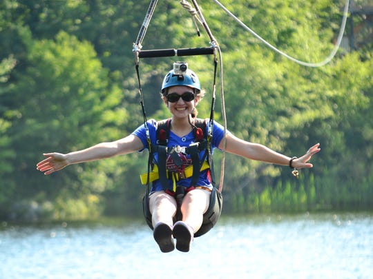 Enjoy a two-hour guided zipline tour with family and friends at Zoom Ziplines at Mountain Creek.