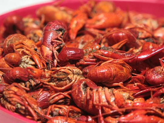 The supply and demand for boiled crawfish is surprisingly