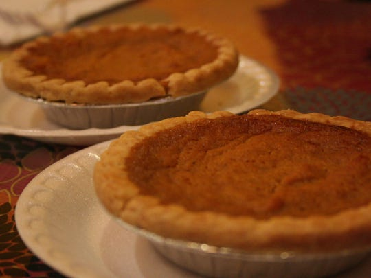 Thanksgiving would not be complete without pie. New Battle Creek restaurant Rafaynee offers a homemade-style sweet potato pie.