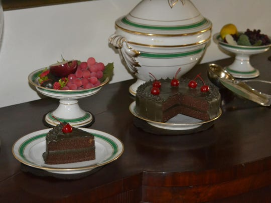 Enjoying delicacies you wouldn't normally get, such as cakes and certain types of fruits and nuts, was part of the Christmas season in the 19th century.