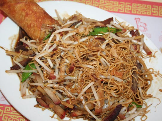 Eating long noodles during the Chinese New Year can lead to long life, which is one of the many reasons to get the BBQ Pork Lo-Mein at Tony's Hong Kong in Battle Creek.