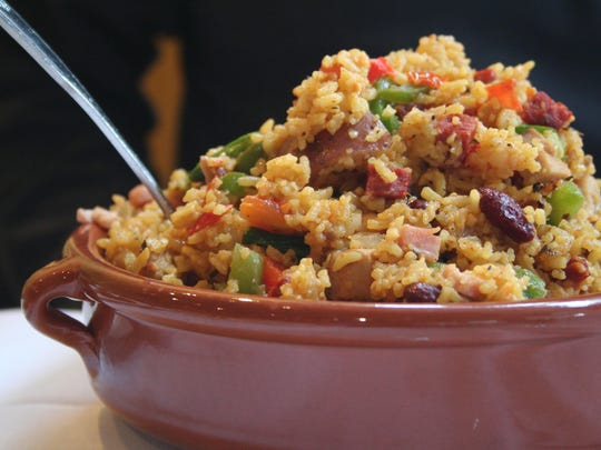 Paella is a basic dish in Spain and is one of the featured items at Zarzuela in Marshall.