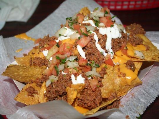torti taco - nacho