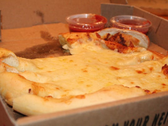 Steve's Pizza is a take-out only pizza place. Beyond pizza, Steve's is known for its bread sticks.