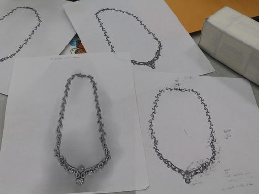 jewelry drawings