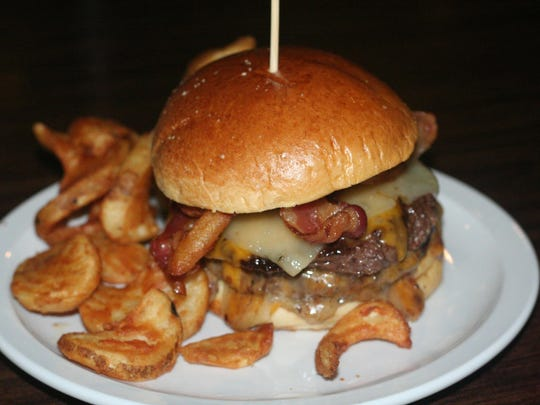 On the Bill's Bites College Tour, the Comet Burger is named after the college mascot at the Lamplighter OC near the campus of Olivet College.