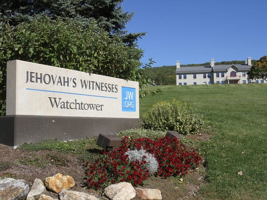 The Jehovah's Witnesses Watchtower complex on Route