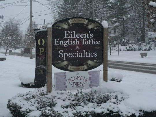 Eileen's English Toffee and Pick-Me-Up Pies share a little shop in Richland, featuring holiday treats perfect for the season.