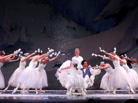 "The Rafael Grigorian Ballet Theatre production of ""The"