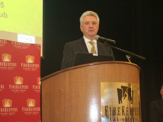 Bruce McKee, CEO of FireKeepers Casino Hotel, talks