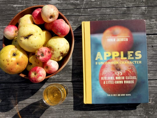 """Rowan Jacobsen's latest book, released earlier this month, is """"Apples of Uncommon Character: 123 Heirlooms, Modern Classics, and Little-Known Wonders."""""""