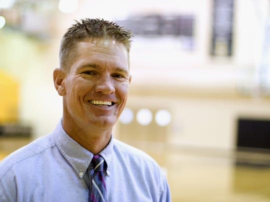 Matt Herting, varsity boys basketball coach at Bishop Verot High School SPECIAL TO THE NEWS-PRESS Matt Herting, varsity boys basketball coach at Bishop Verot High School
