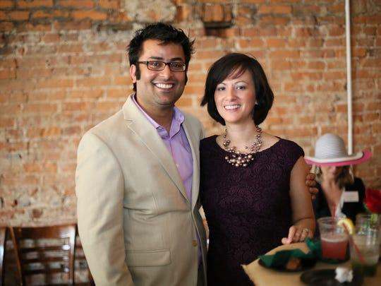 Praveen and Sylvia Saxena